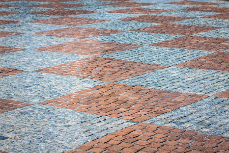 ceske: Stone paving texture. Abstract structured background.