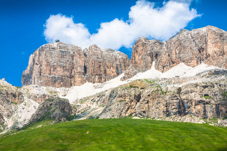The Sella Towers In The Italian Dolomites From Sass Pordoi