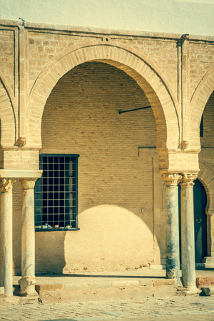 kairouan: The Great Mosque of Kairouan, Tunisia, africa