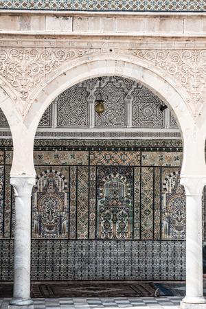 kairouan: The Great Mosque of Kairouan, Tunisia, africa