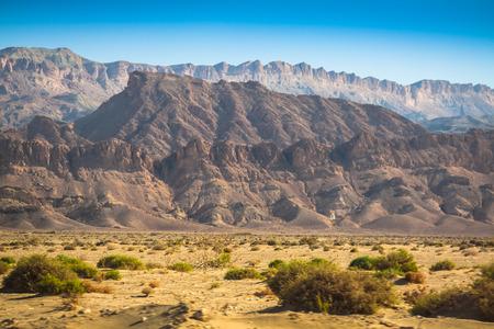 Atlas Mountains, Chebika, border of Sahara, Tunisia photo