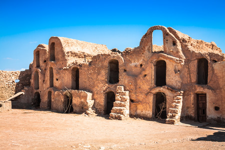 Medenine (Tunisia) : traditional Ksour (Berber Fortified Granary) photo