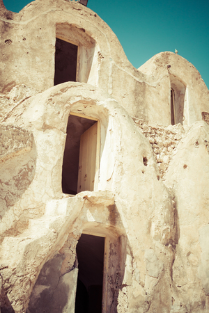 berber: Medenine (Tunisia) : traditional Ksour (Berber Fortified Granary)