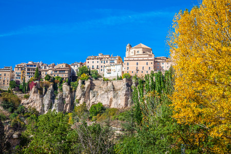 castilla: City of Cuenca. Castilla La Mancha, Spain.