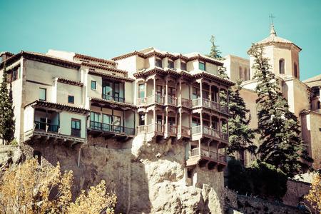 castilla la mancha: City of Cuenca. Castilla La Mancha, Spain.