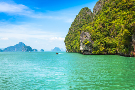 james: Beautiful scenery of Phang Nga National Park in Thailand