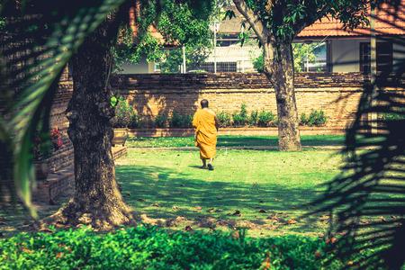 moine: Monk thai Banque d'images
