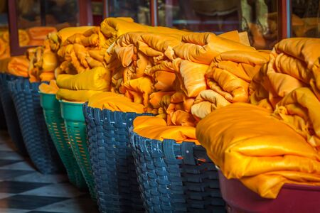 sarong: Buddha sarong Stock Photo