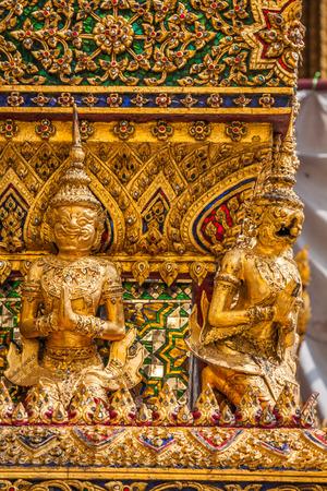 krung: Wat Phra Keo, Bangkok, Thailand