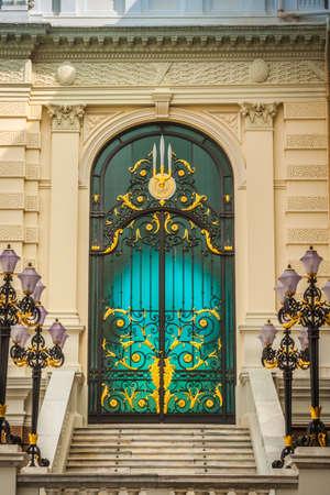 the grand palace: the doors of grand palace Bangkok Thailand
