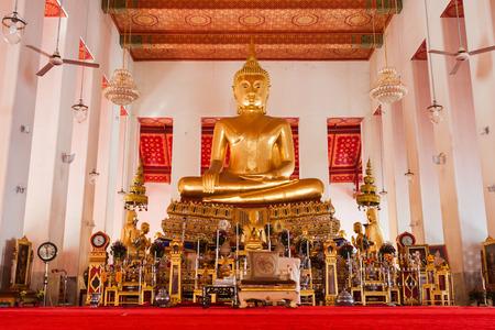 transcendental: Picture of Buddha statue at Wat Pho temple. Bangkok, Thailand.