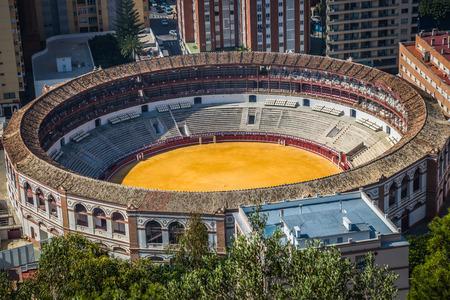 plaza de toros: Spain,Malaga plaza de toros