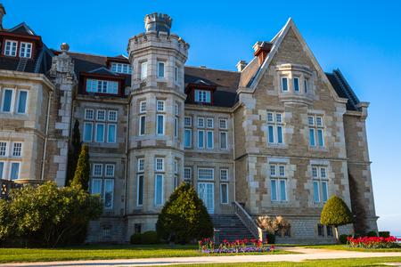 magdalena: Magdalena palace in Santander, Cantabria, Spain
