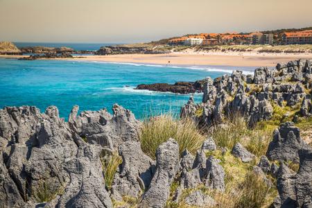 cantabria: Beach of Helgueras, Noja, Cantabria, Spain