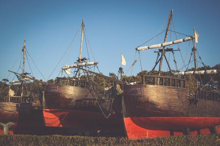 magdalena: Ships in the Magdalena, Santander, Cantabria, Spain