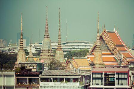 the emerald city: Landmark of Bangkok city Temple of the Emerald Buddha Bangkok, Asia Thailand