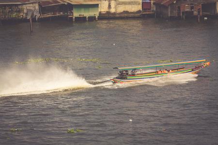 long tail: Long Tail Boat, Thailand