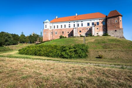 sighting: Old castle from 14th century in Sandomierz is located by Vistula river - the longest and biggest in Poland. Editorial