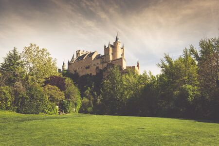 castilla y leon: The famous Alcazar of Segovia, Castilla y Leon, Spain Editorial