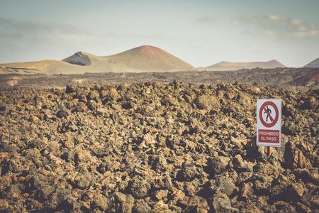lanzarote: Timanfaya National Park in Lanzarote, Canary Islands, Spain