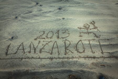 lanzarote: coast of Famara, Lanzarote, Canary Islands, Spain