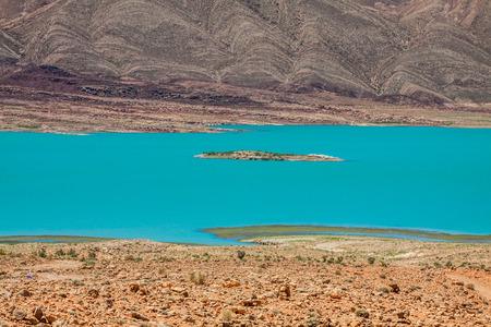 rages: Lake al-hassan addakhil in Errachidia Morocco