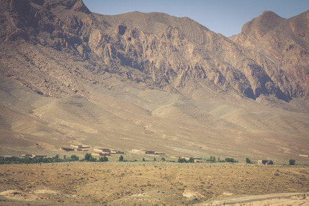 parch: Morocco Mountains in the desert