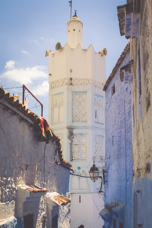 medina: Chefchaouen Old Medina, Morocco, Africa