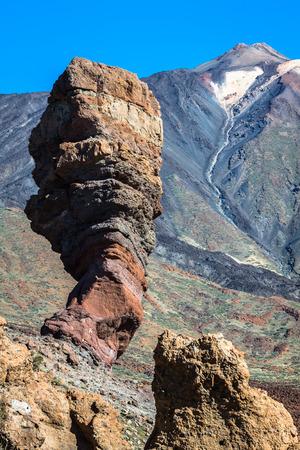 garcia: Teide National Park Roques de Garcia in Tenerife at Canary Islands