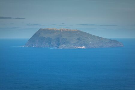smallest: Corvo island, the smallest island of the Azores Archipelago