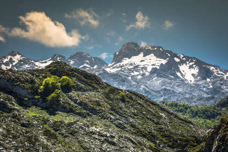 picos: Picos de Europa mountains, Cantabria (Spain)