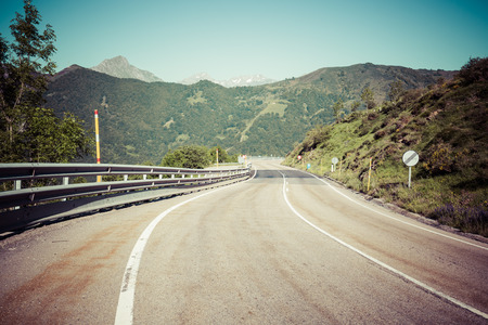 europa: Landscape at Picos de Europa, Asturias, Spain