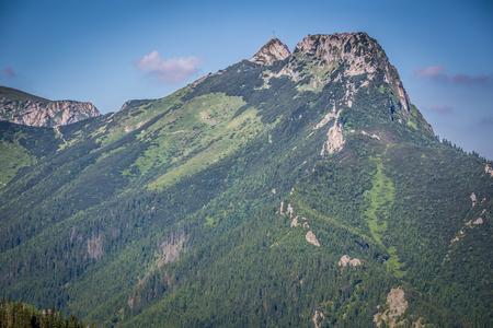 giewont: The popular mountain Giewont in Polish Tatra Mountains.