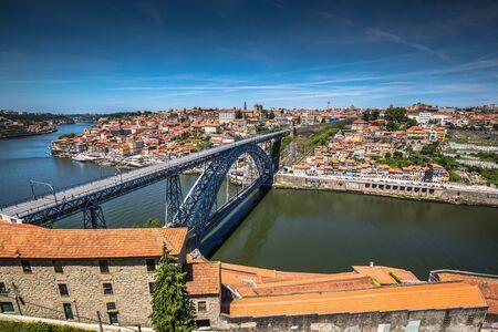 porto: bridge Dom Louis, Porto, Portugal