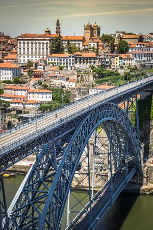 dom: bridge Dom Louis, Porto, Portugal