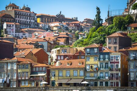 declared: Porto, Portugal -21 May 2015:The historic centre of Porto was declared a World Heritage Site by UNESCO in 1996