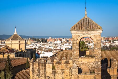 alcazar: Alcazar de los Reyes Cristianos Cordoba, Spain Stock Photo