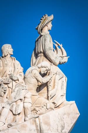 Monument des Découvertes du Nouveau monde à Lisboa, Portugal