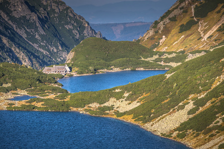 Valley of five ponds in the Tatra Mountains,Zakopane,Poland Stock fotó
