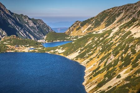 zakopane: Valley of five ponds in the Tatra Mountains,Zakopane,Poland Stock Photo