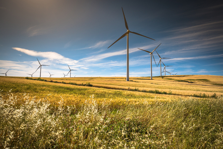 power production: Windmills for electric power production