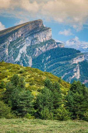 anisclo: Canyon de Anisclo in Parque Nacional Ordesa y Monte Perdido, Spain