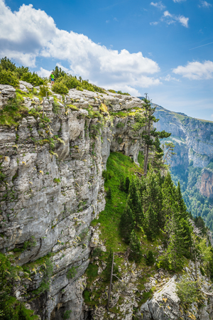 ordesa: Canyon de Anisclo in Parque Nacional Ordesa y Monte Perdido, Spain