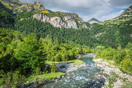 ordesa: Ordesa y Monte Perdido National Park Spain Stock Photo