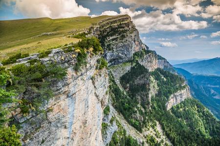 Canyon de Anisclo in Parque Nacional Ordesa y Monte Perdido, Spain