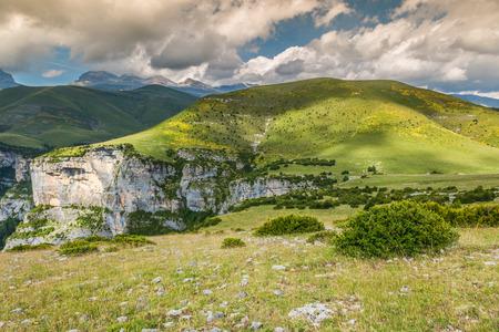 anisclo: Canyon de Anisclo in Parque Nacional Ordesa y Monte Perdido, Spain.
