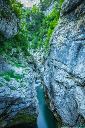 cantabria: Ebro river through a valley in Cantabria, Spain