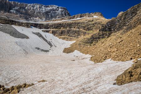 steep: Roland Gap, Cirque de Gavarnie in the Pyrenees
