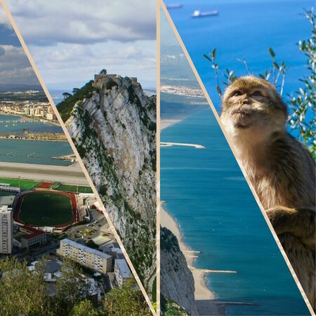 Collage of Gibraltar (my photos)