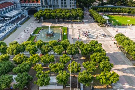 Sopot,Poland-September 7,2016:View of the Sopot City in Poland Editorial